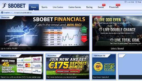 Agen SBObet & Casino Online
